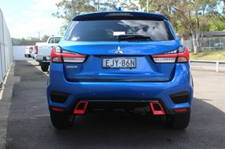 2020 Mitsubishi ASX XD MY20 LS 2WD Lightning Blue 1 Speed Constant Variable Wagon
