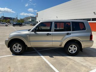 2005 Mitsubishi Pajero NP GLX LWB (4x4) Gold 5 Speed Manual Wagon
