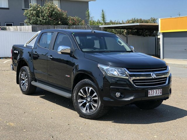 Used Holden Colorado RG MY17 LTZ Pickup Crew Cab 4x2, 2017 Holden Colorado RG MY17 LTZ Pickup Crew Cab 4x2 Black 6 Speed Sports Automatic Utility