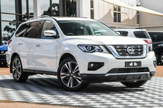 2019 Nissan Pathfinder R52 Series III MY19 Ti X-tronic 4WD Ivory Pearl 1 Speed Constant Variable.