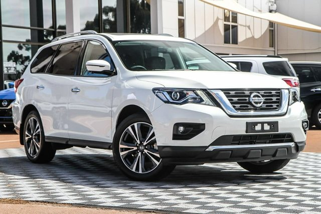 Used Nissan Pathfinder R52 Series III MY19 Ti X-tronic 4WD, 2019 Nissan Pathfinder R52 Series III MY19 Ti X-tronic 4WD Ivory Pearl 1 Speed Constant Variable