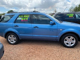 2005 Ford Territory SY Ghia AWD Blue 6 Speed Sports Automatic Wagon.