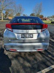 2013 Honda Civic 9th Gen MY13 VTi-S Silver 5 Speed Sports Automatic Hatchback.