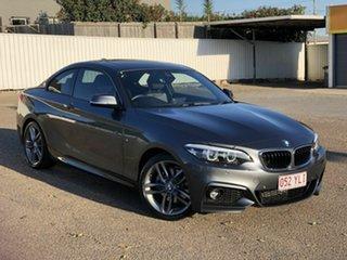 2018 BMW 2 Series F22 LCI 220i M Sport Grey 8 Speed Sports Automatic Coupe.