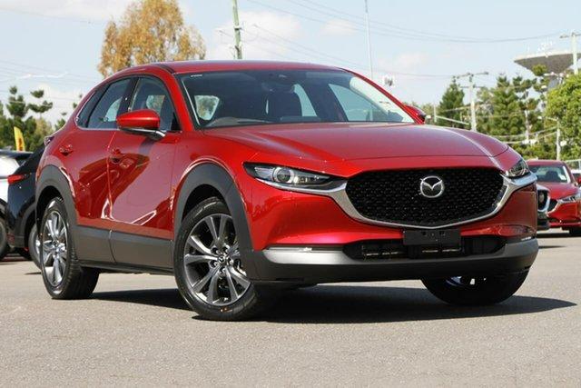 New Mazda CX-30 C30A X20 Astina (AWD) M Hybrid, 2020 Mazda CX-30 C30A X20 Astina (AWD) M Hybrid Soul Red Crystal 6 Speed Automatic Wagon