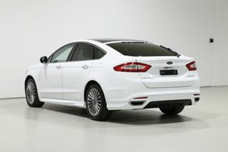 2017 Ford Mondeo MD Facelift Titanium TDCi White 6 Speed Automatic Hatchback