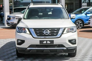 2019 Nissan Pathfinder R52 Series III MY19 Ti X-tronic 4WD Ivory Pearl 1 Speed Constant Variable