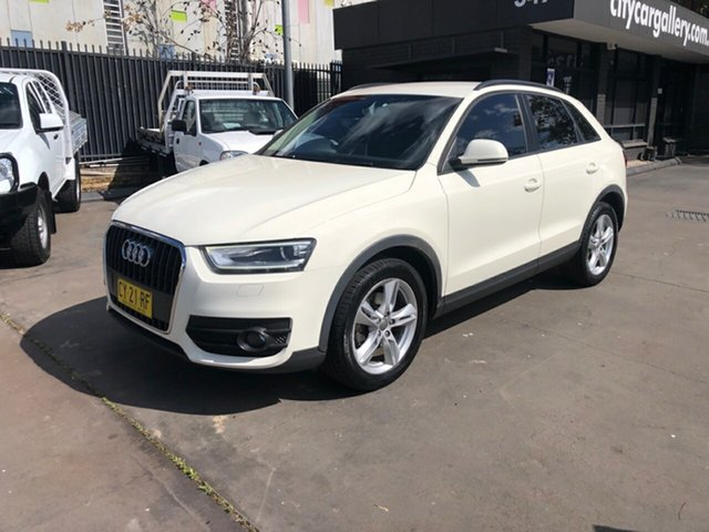Used Audi Q3 8U 2.0 TDI, 2012 Audi Q3 8U 2.0 TDI White 6 Speed Manual Wagon