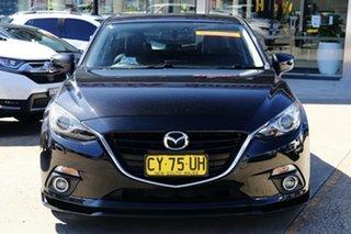 2014 Mazda 3 BM SP25 GT Black 6 Speed Automatic Hatchback