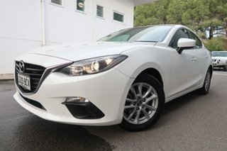 2014 Mazda 3 BM5276 Maxx SKYACTIV-MT White 6 Speed Manual Sedan.