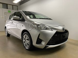 2018 Toyota Yaris NCP130R MY18 Ascent Silver 4 Speed Automatic Hatchback.