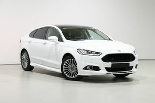 2017 Ford Mondeo MD Facelift Titanium TDCi White 6 Speed Automatic Hatchback.