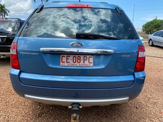 2005 Ford Territory SY Ghia AWD Blue 6 Speed Sports Automatic Wagon