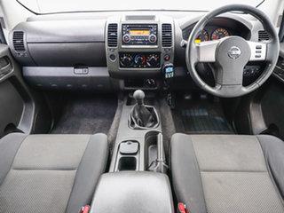 2014 Nissan Navara D40 MY12 Upgrade ST (4x4) White 6 Speed Manual Dual Cab Pick-up