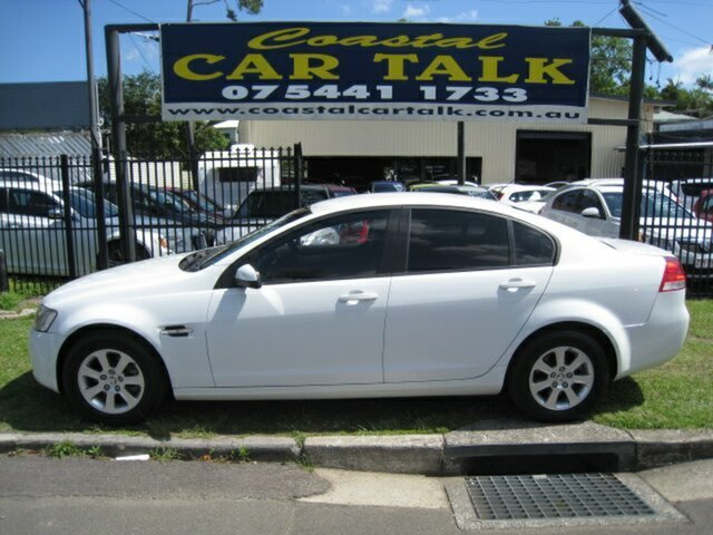 Used Holden Commodore VE MY09.5 Omega, 2009 Holden Commodore VE MY09.5 Omega White 4 Speed Automatic Sedan