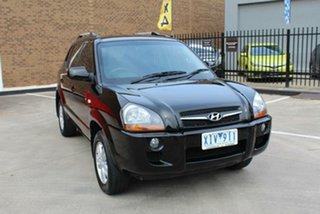 2009 Hyundai Tucson 08 Upgrade City SX Black 4 Speed Automatic Wagon.