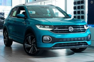 2020 Volkswagen T-Cross C1 MY20 85TSI DSG FWD Style Blue 7 Speed Sports Automatic Dual Clutch Wagon.