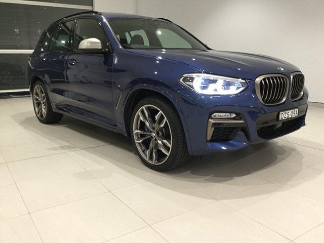 Used BMW X3 G01 M40i Steptronic, 2018 BMW X3 G01 M40i Steptronic Blue 8 Speed Automatic Wagon