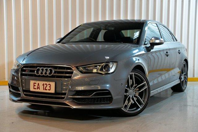 Used Audi S3 8V MY16 S Tronic Quattro, 2016 Audi S3 8V MY16 S Tronic Quattro Grey 6 Speed Sports Automatic Dual Clutch Sedan