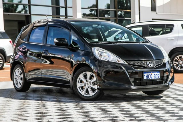 Used Honda Jazz GE MY12 Vibe, 2012 Honda Jazz GE MY12 Vibe Black 5 Speed Automatic Hatchback
