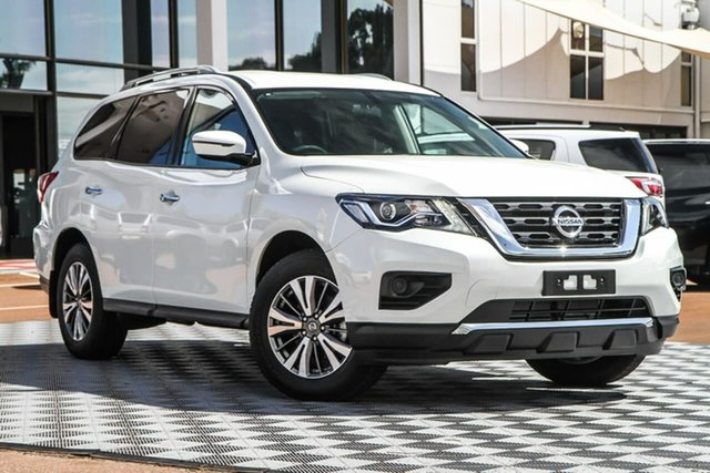 New Nissan Pathfinder R52 Series III MY19 ST X-tronic 2WD, 2020 Nissan Pathfinder R52 Series III MY19 ST X-tronic 2WD Ivory Pearl 1 Speed Constant Variable