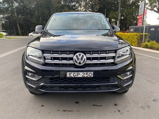 2019 Volkswagen Amarok 2H MY19 TDI550 4MOTION Perm Highline Black 8 Speed Automatic Utility.
