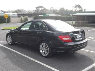 2013 Mercedes-Benz C-Class NO BADGE C200 Black Automatic Sedan
