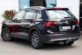 2016 Volkswagen Tiguan 5N MY17 132TSI DSG 4MOTION Comfortline Black 7 Speed.