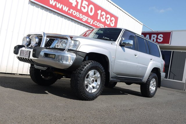 Used Nissan Patrol GU IV MY06 TI, 2006 Nissan Patrol GU IV MY06 TI Silver 5 Speed Sports Automatic Wagon