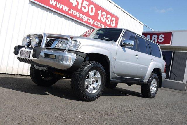 Used Nissan Patrol GU IV MY06 TI, 2006 Nissan Patrol GU IV MY06 TI Silver 5 Speed Sports Automatic Wagon