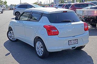 2019 Suzuki Swift AZ GL Navigator White 5 Speed Manual Hatchback.