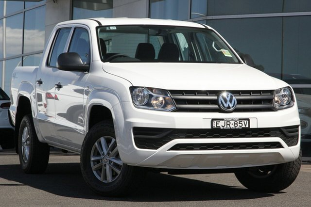 Demo Volkswagen Amarok 2H MY20 TDI400 4MOT Core, 2020 Volkswagen Amarok 2H MY20 TDI400 4MOT Core Candy White 6 Speed Manual Utility