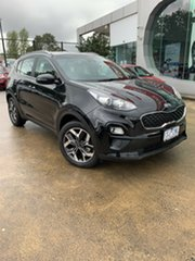 2020 Kia Sportage QL MY20 SX 2WD Cherry Black 6 Speed Sports Automatic Wagon.