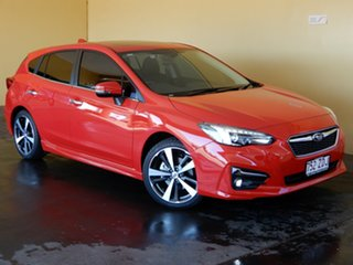 2019 Subaru Impreza MY19 2.0I-S (AWD) Red Continuous Variable Hatchback