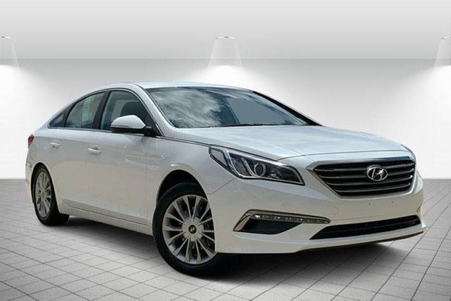 Used Hyundai Sonata LF3 MY17 Active, 2016 Hyundai Sonata LF3 MY17 Active White 6 Speed Sports Automatic Sedan