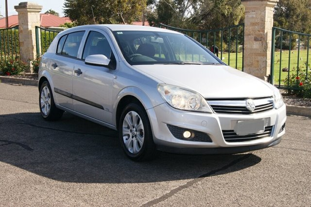 Used Holden Astra AH MY08 CD, 2008 Holden Astra AH MY08 CD Silver 4 Speed Automatic Hatchback
