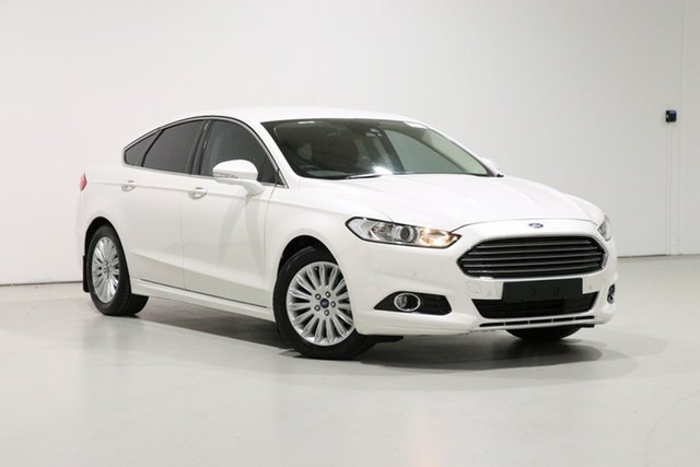 Used Ford Mondeo MD Trend, 2016 Ford Mondeo MD Trend White 6 Speed Automatic Hatchback