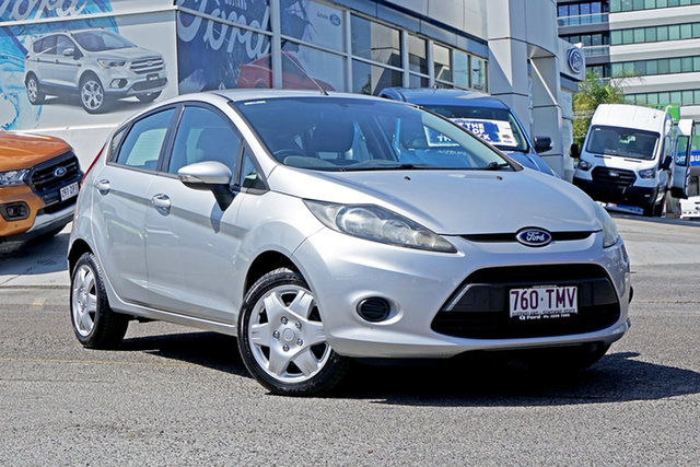 Used Ford Fiesta WT CL PwrShift Springwood, 2013 Ford Fiesta WT CL PwrShift Silver 6 Speed Sports Automatic Dual Clutch Hatchback