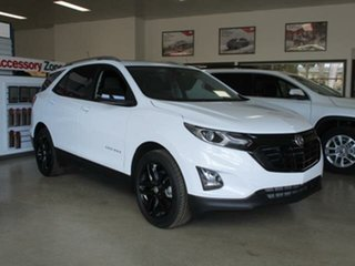 2020 Holden Equinox B-CX5 Black Edition Summit White Automatic Wagon.