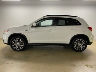 2019 Mitsubishi ASX XC MY19 Exceed (2WD) White Continuous Variable Wagon
