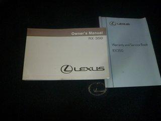 2006 Lexus RX GSU35R RX350 Sports Luxury Silver 5 Speed Sports Automatic Wagon.