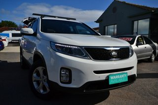 2013 Kia Sorento XM MY14 SI (4x4) White 6 Speed Automatic Wagon.