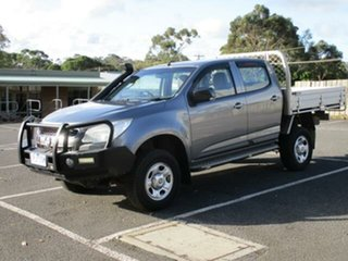 2015 Holden Colorado LS 4x4 LS Satin Steel Grey Automatic CREWCAB UTILITY.