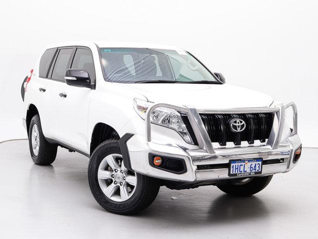 Used Toyota Landcruiser Prado KDJ150R MY14 GX (4x4), 2015 Toyota Landcruiser Prado KDJ150R MY14 GX (4x4) White 6 Speed Manual Wagon