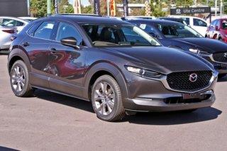 2020 Mazda CX-30 DM4WLA G25 SKYACTIV-Drive i-ACTIV AWD Touring Machine Grey 6 Speed Sports Automatic.