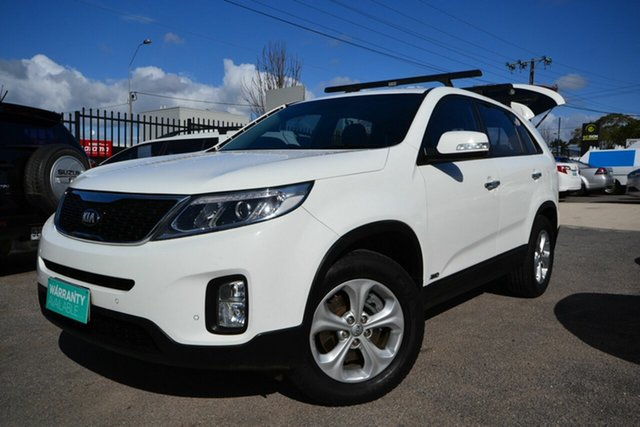Used Kia Sorento XM MY14 SI (4x4) Blair Athol, 2013 Kia Sorento XM MY14 SI (4x4) White 6 Speed Automatic Wagon