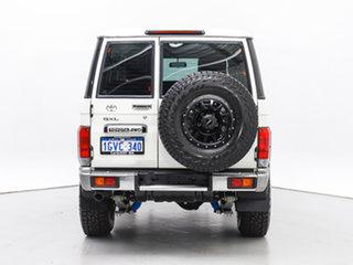 2020 Toyota Landcruiser VDJ76R GXL (4x4) White 5 Speed Manual Wagon