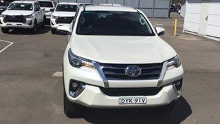 2018 Toyota Fortuner GUN156R Crusade White 6 Speed Automatic Wagon.