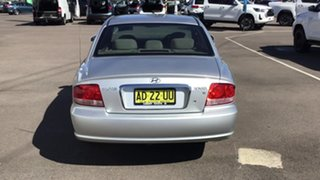 2004 Hyundai Sonata EF-B MY04 Silver 5 Speed Manual Sedan