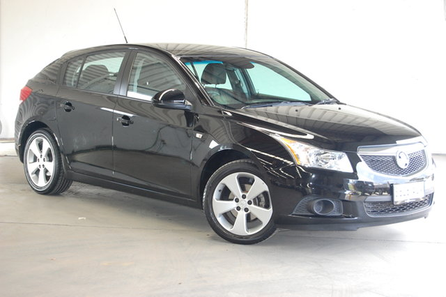 Used Holden Cruze JH Series II MY12 Equipe, 2012 Holden Cruze JH Series II MY12 Equipe Phantom 6 Speed Sports Automatic Hatchback
